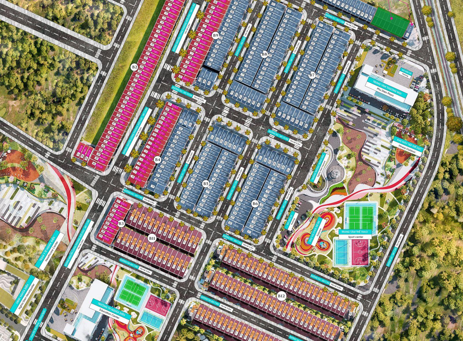 Dự án Phú Điền Resideces